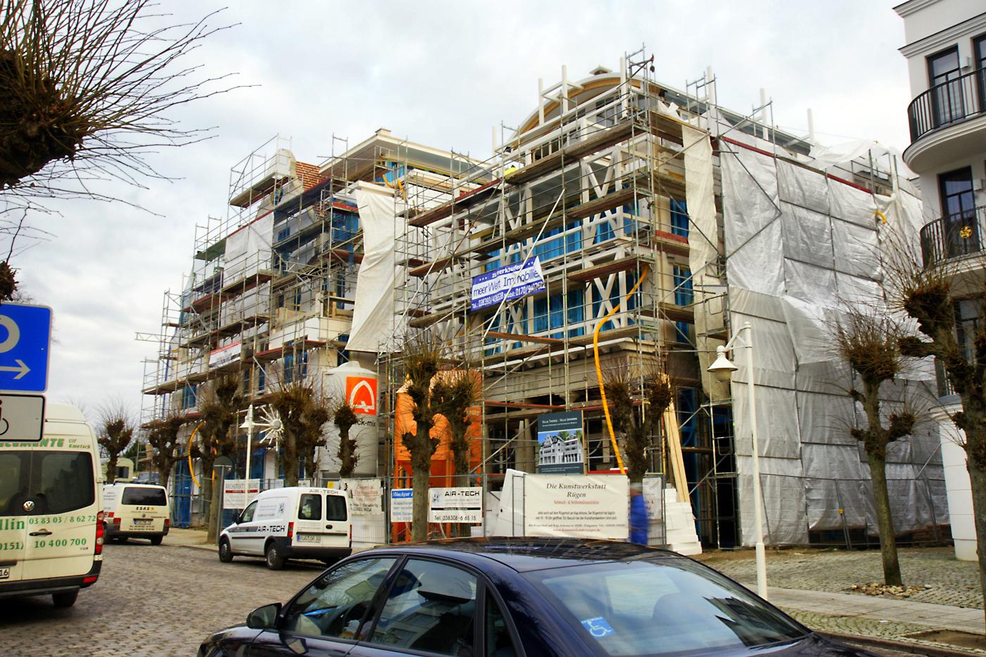 Haus eintracht blog blog archiv baugeschehen im for Apartments haus eintracht sellin